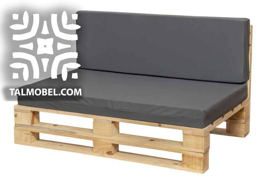 cojines impermeable para sofá color gris