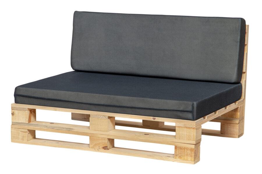 cojines transpirable para sofá color azul marino