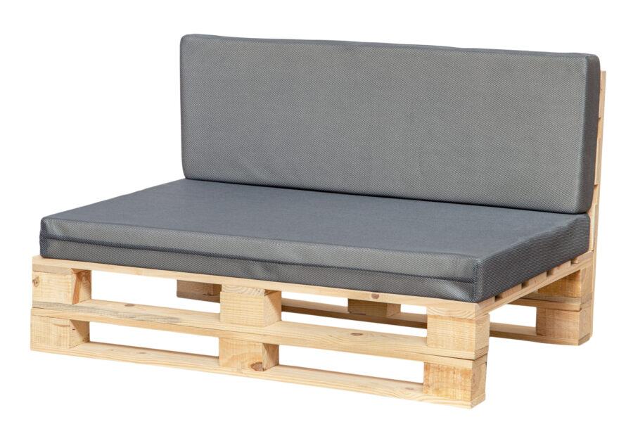 cojines transpirable para sofá color gris
