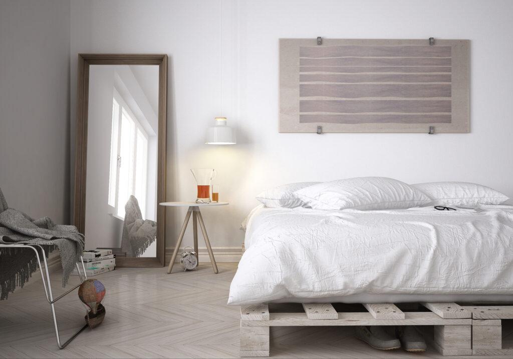 cama de palets bed pallets