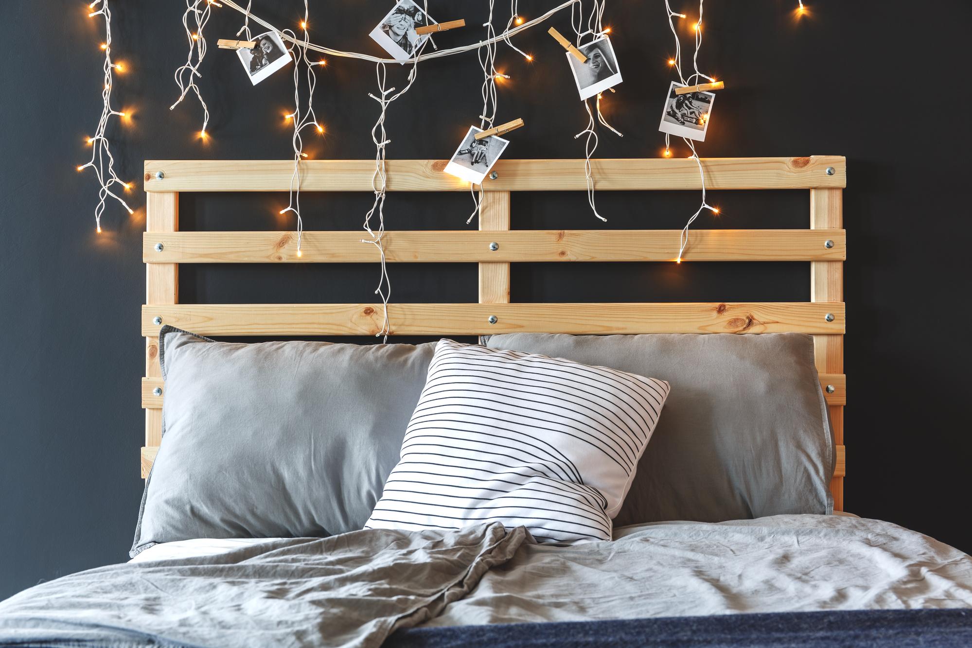 decorar con palets dormitorios