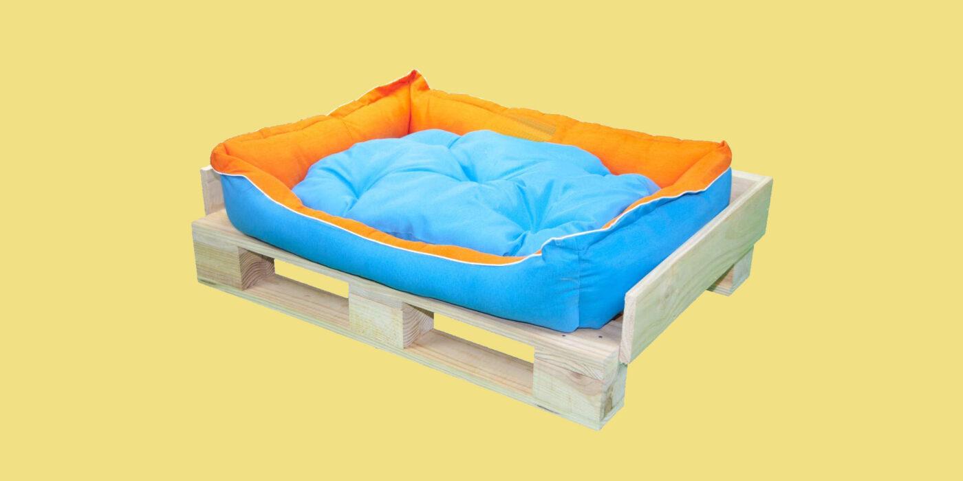 sofa de palets para mascotas, perrros, gatos,