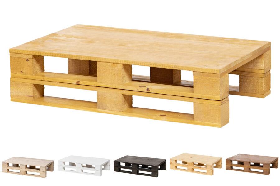 mesa palet roble