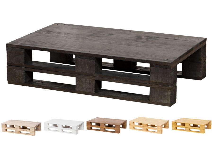 mesa palet color ebano